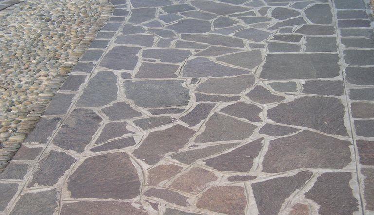 Vendita pavimenti in porfido a brescia rizzi lussignoli